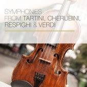 Symphonies from Tartini, Cherubini, Respighi & Verdi by Columbia Symphony Orchestra