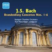 Bach, J.S.: Brandenburg Concertos Nos. 1-6 (Munchinger) (1950) von Karl Munchinger