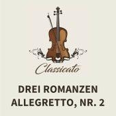 Drei Romanzen, Nr. 2, Allegretto von Clara (Wieck) Schumann