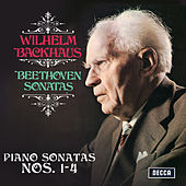 Beethoven: Piano Sonatas Nos. 1, 2, 3 & 4 (Stereo Version) by Wilhelm Backhaus
