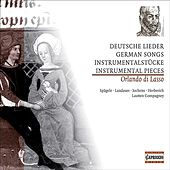 Lasso, O. Di: German Songs and Instrumental Music de Various Artists