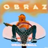 Orangeball by Obraz