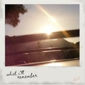 what i'll remember de Emily James