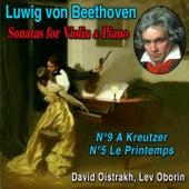 Beethoven - Sonatas for violon and piano by David Oistrakh