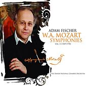 Mozart: Symphonies, Vol. 3 (1769-1770) by Adam Fischer