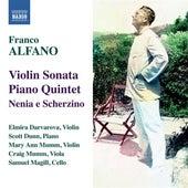 Alfano: Violin Sonata - Piano Quintet von Scott Dunn