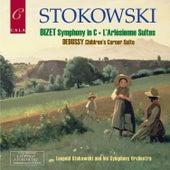 Bizet: Symphony in C, L'arlésienne Suites - Debussy: Children's Corner Suite de Leopold Stokowski