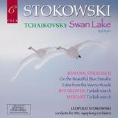 Tchaikovsky: Swan Lake Highlights - Beethoven - Mozart - Johann Strauss II de NBC Symphony Orchestra
