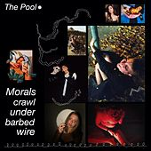 Morals Crawl Under Barbed Wire by Pool