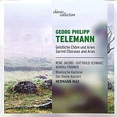 Telemann: Sacred Choruses and Arias von Various Artists