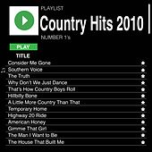 Country Hits 2010 (Number 1's) de Various Artists