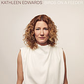 Birds On A Feeder by Kathleen Edwards