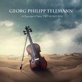 4 Concerti for 4 Violins, TWV 40: 201-204 de Georg Philipp Telemann