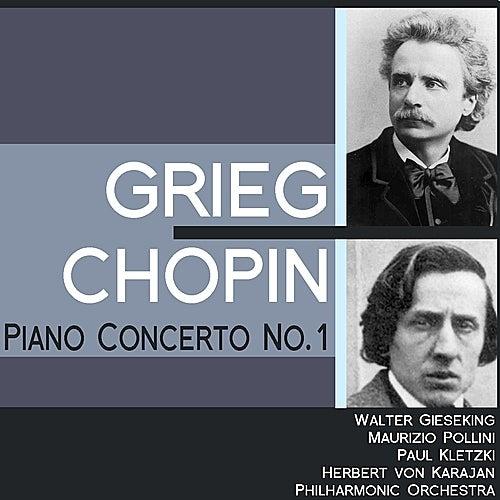 Grieg: Piano Concerto No. 1 - Chopin: Piano Concerto No. 1 by Various Artists
