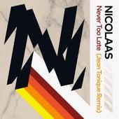 Never Too Late (feat. Maribelle) (Jean Tonique Remix) de Nicolaas