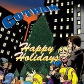 Happy Holidays by Emanuel Kallins