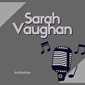 Invitation de Sarah Vaughan