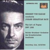 HERBERT VON KARAJAN conducts JOHAN SEBASTIAN BACH de Reichs - Bruckner - Orchestrer Des Grossdeutschen Rundfunks