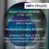 Mengal & Mozart: Chamber Music (Live) de Aulos Wind Quintet