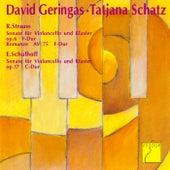 Strauss: Cello Sonata - Schulhoff: Cello Sonata de David Geringas