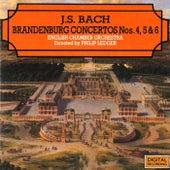 Bach: Brandenburg Concertos Nos. 4, 5 & 6 by Philip Ledger