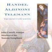 Handel/Albinoni/Telemann: Trumpet Concertos de John Cowell