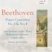 Beethoven: Piano Concertos No.3 & 4 by Jorge Federico Osorio