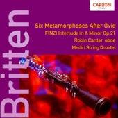 Britten/Finzi - Oboe Works by Robin Canter