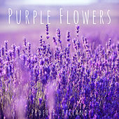 Purple Flowers van Peder B. Helland