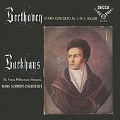 Beethoven: Piano Concertos Nos. 3 & 4 by Wilhelm Backhaus