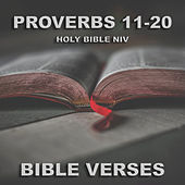 Holy Bible Niv Proverbs 11-20 de Bible Verses