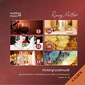 Hintergrundmusik, Vol. 13 - 18 - Gemafreie Musik zur Beschallung von Hotels & Restaurants (Inkl. Klaviermusik, Filmmusik & Klassik) [Incl. Royalty Free Relaxing Piano Music for Studying] von Ronny Matthes