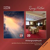 Hintergrundmusik, Vol. 19 & 20 - Gemafreie Musik zur Beschallung von Hotels & Restaurants (Inkl. Klaviermusik & Christliche Lieder) [Incl. Royalty Free Christian Songs] von Ronny Matthes