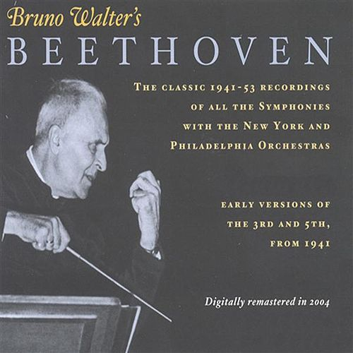 Beethoven: Symphonies Nos. 1-9 (Walter) (1941-1953) by Various Artists