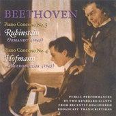 Beethoven, L. Van: Piano Concerto Nos. 3 (Rubinstein, Ormandy) (1943) / Piano Concerto No. 4 (Hofmann, Mitropoulos) (1943) de Various Artists