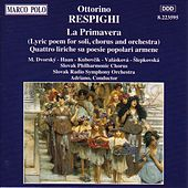 Respighi: Primavera (La) / 4 Liriche by Various Artists