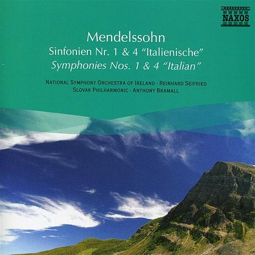 Mendelssohn: Symphonies Nos. 1 and 4 by Various Artists