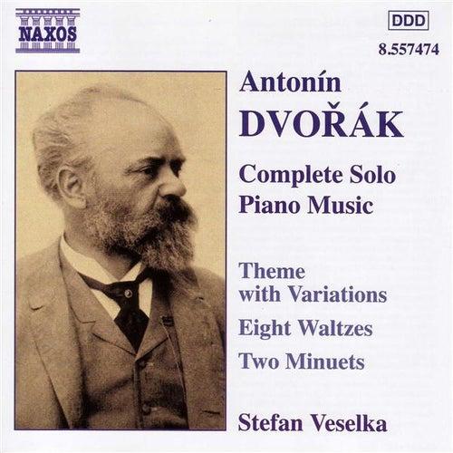 Dvorak: Theme With Variations, Op. 36 / Waltzes, Op. 54 by Stefan Veselka