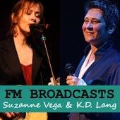 FM Broadcasts Suzanne Vega & K.D. Lang de Suzanne Vega