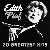 20 greatest hits by Edith Piaf