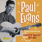 Sitting in the Back Seat: Complete Masters (1957-1962) by Paul Evans