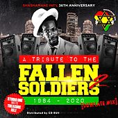 Tribute to the Fallen Soldiers Dubplate Mix, Vol. 2 (1984 - 2020 Shashamane Int'l Anniversary (Studio One Meets Treasure Isle)) by Apple Gabriel, Israel Vibration, Frankie Paul, John Holt, Derrick Lara, KC White, Sugar Minott, The Kingstonians, The Slickers, The Jamaicans, Alton Ellis, Edi Fitzroy, Bob Andy, Larry Marshall, Jimmy Riley, Dennis Brown, Gregory Isaacs, Pat Kelly