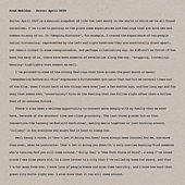 Suite: April 2020 di Brad Mehldau