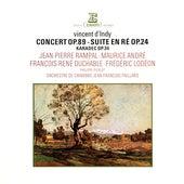 D'Indy: Concert, Op. 89, Suite dans le style ancien, Op. 24 & Karadec, Op. 34 de Jean-François Paillard
