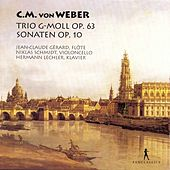 Weber: Flute Trio, Op. 63 & Flute Sonatas, Op. 10b by Jean-Claude Gérard