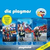Die große Feuerwehr-Box, Folgen 42, 57, 62 (Das Original Playmobil Hörspiel) von Die Playmos
