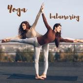 Yoga balansering von Blandade Artister