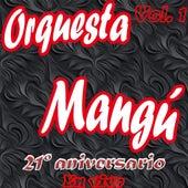 21 Aniversario, Vol. 1 (En Vivo) de Orquesta Mangú