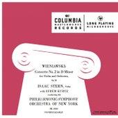 Wieniawski: Violin Concerto No. 2 in D Minor, Op. 22 by Isaac Stern