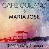 Saber si estoy a tiempo (feat. María José) de Cafe Quijano